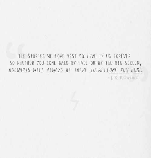 jk rowling quotes about harry potter - Google Search