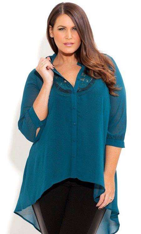 blusas-para-mujeres-gorditas.jpg (450×746)