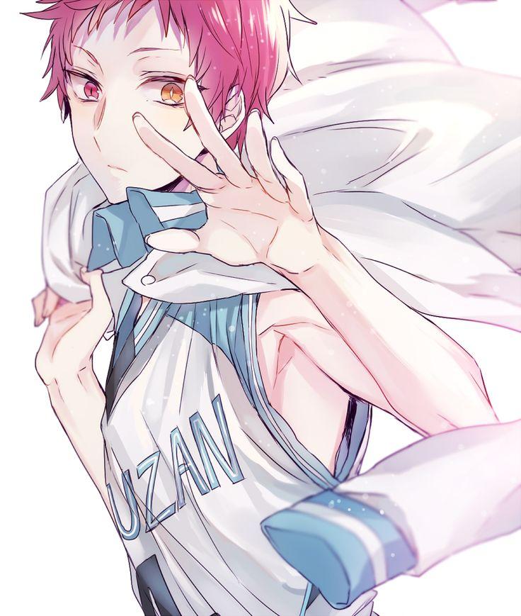 Anime heterochromia / odd eyes red yellow (Akashi Seijuurou kuroko no basket)