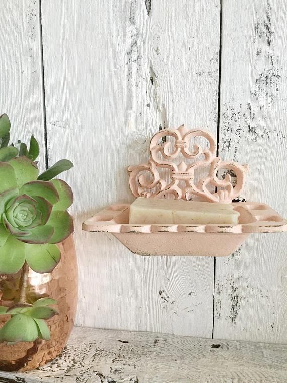 Flourish Soap Dish Toothbrush Holder Shabby House Soap Dish Bathroom