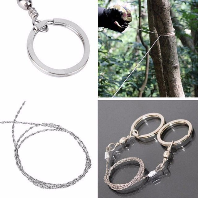 Emergency Survival Gear Steel Wire Hand Saw Camping Hiking Climbing Outdoor Tool