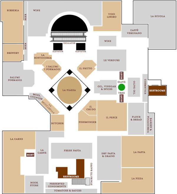 Here's a Map of #Eataly Chicago | Chicago magazine