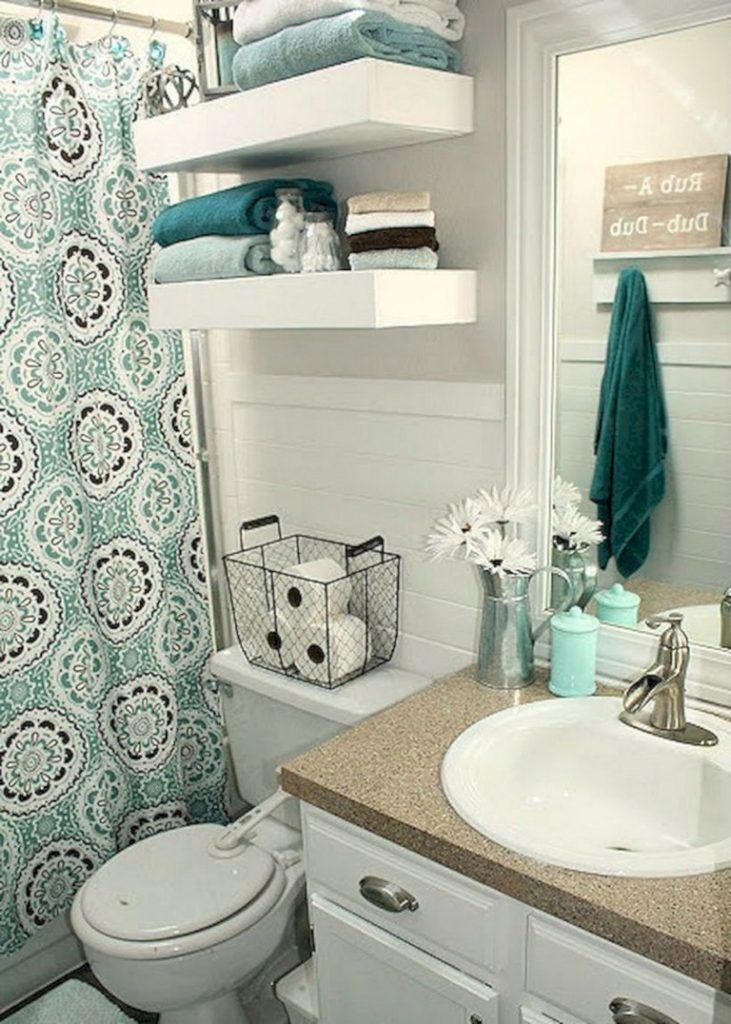 50 Best Small Bathroom Ideas On A Budget Bathroomdesign Bathroomremodel Bathroomdecor Small Bathroom Decor Diy Small Apartment Diy Apartment Decor