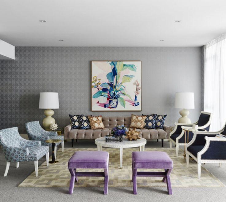 PANTONE FARBEN Wohndesign Wohnzimmer Ideen KLASSISCH WOHNEN - wohnzimmer klassisch modern