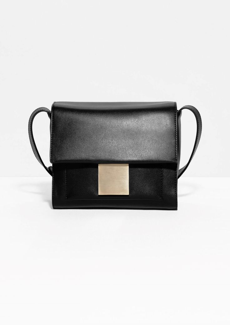 & Other Stories Cross-Body Leather Bag, $150; stories.com     - ELLE.com