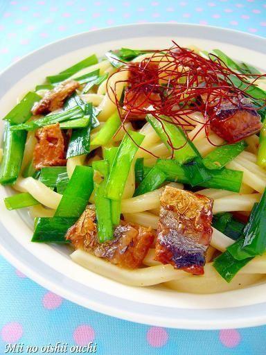さんま蒲焼き DE 和風うどん焼き♪ by みぃさん | レシピブログ - 料理 ...