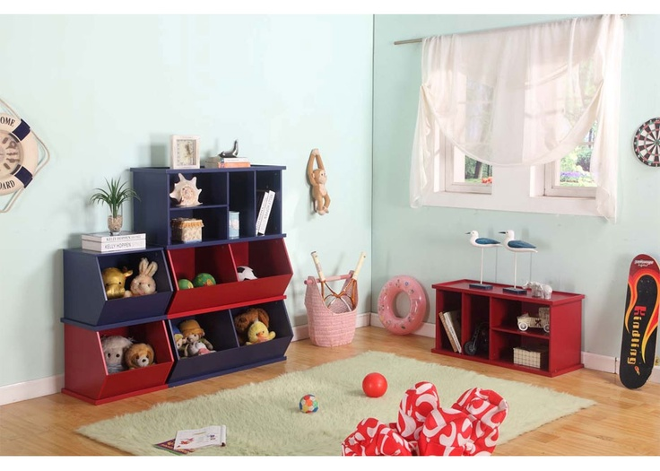 Columbia Red Stackable Unit