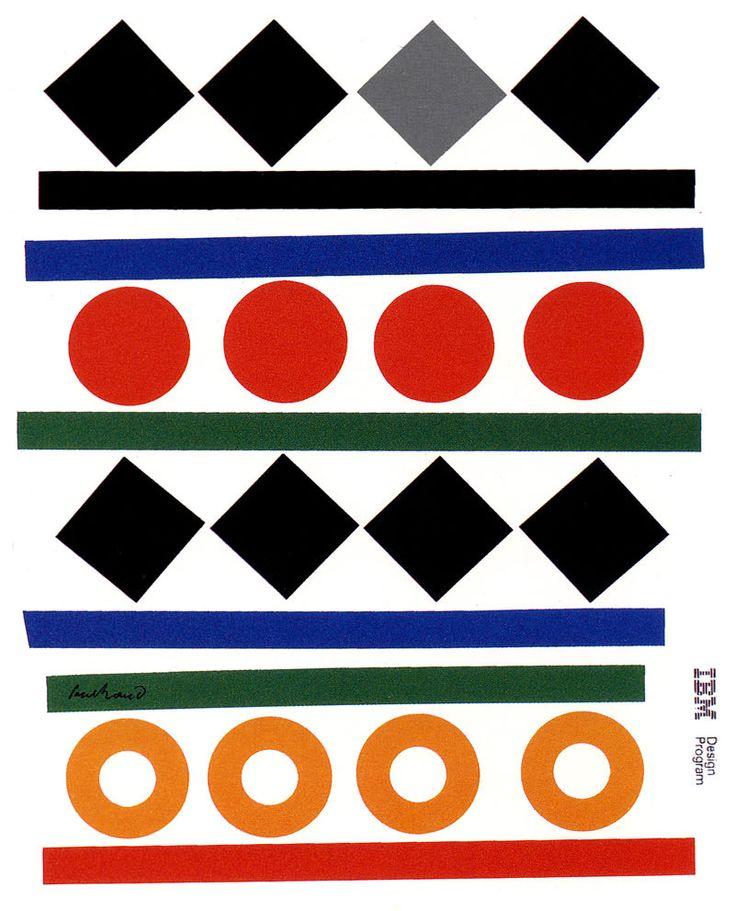IBM | Paul Rand, American Modernist (1914-1996)