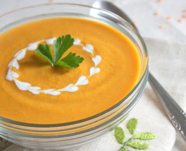Vellutata e zuppa di Lenticchie rosse - Idee Green