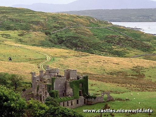 Clifden Castle, County Galway, Ireland- I want to come here too!Clifden Castles, Buckets Lists, Favorite Places, Countygalway, Galway Ireland, Ireland Castle, County Galway, Medieval Time, Travel