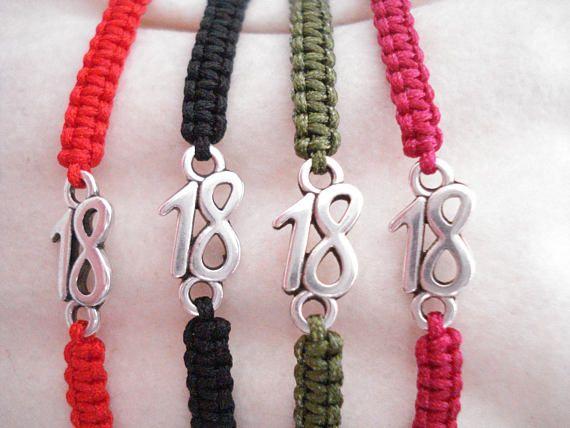 2018 New Year's good luck bracelet Adjustable cord