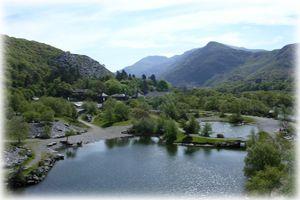 Llyn Padarn & Padarn Country Park, Country/Royal Park, Caernarfon, Gwynedd, Wales
