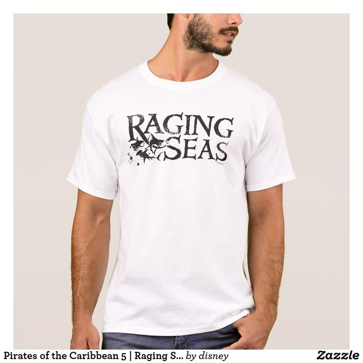Pirates of the Caribbean 5   Raging Seas. Customizable product available in Zazzle store. Producto personalizable disponible en tienda Zazzle. #camiseta #shirt