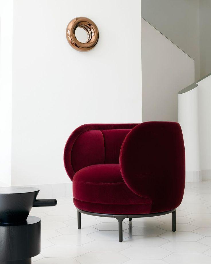 Die besten 25+ Industrial chaise lounge chairs Ideen auf Pinterest - wohnzimmer ideen rote couch