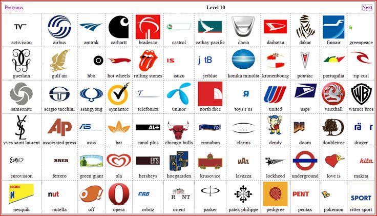 Logo quiz english level 8
