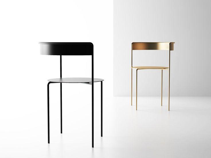 Sedia in acciaio AVOA CHAIR by Matter Made design Pedro Paulo Venzon