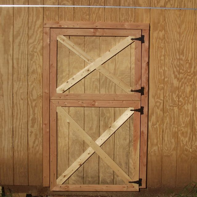 How To Build Simple Dutch Barn Doors In 2019 Fun Ideas