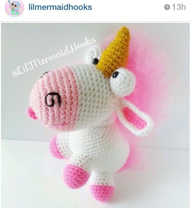 Amigurumi Unicornio Gru : Best monster high crochet images on pinterest