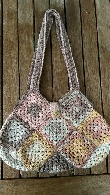 Crochet bag / Horgolt táska