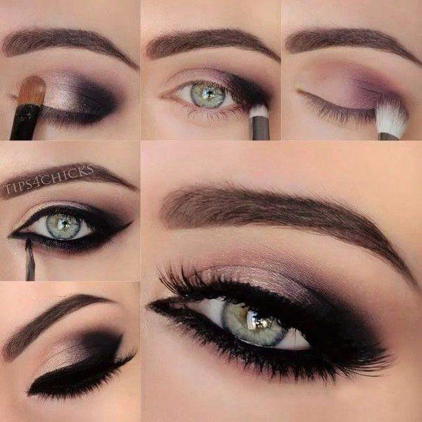 Классический вечерний макияж | Свадебные прически