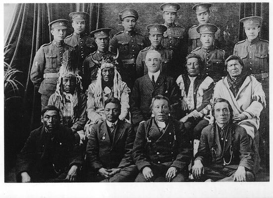 Canadian soldiers 1914-1918