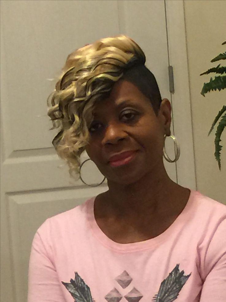 7 besten Short Sew in hair styles for black women full crown sew -in ...