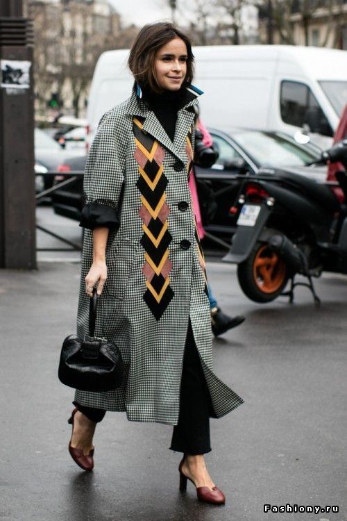 Paris Fashion Week осень-зима 2016-2017 - street style