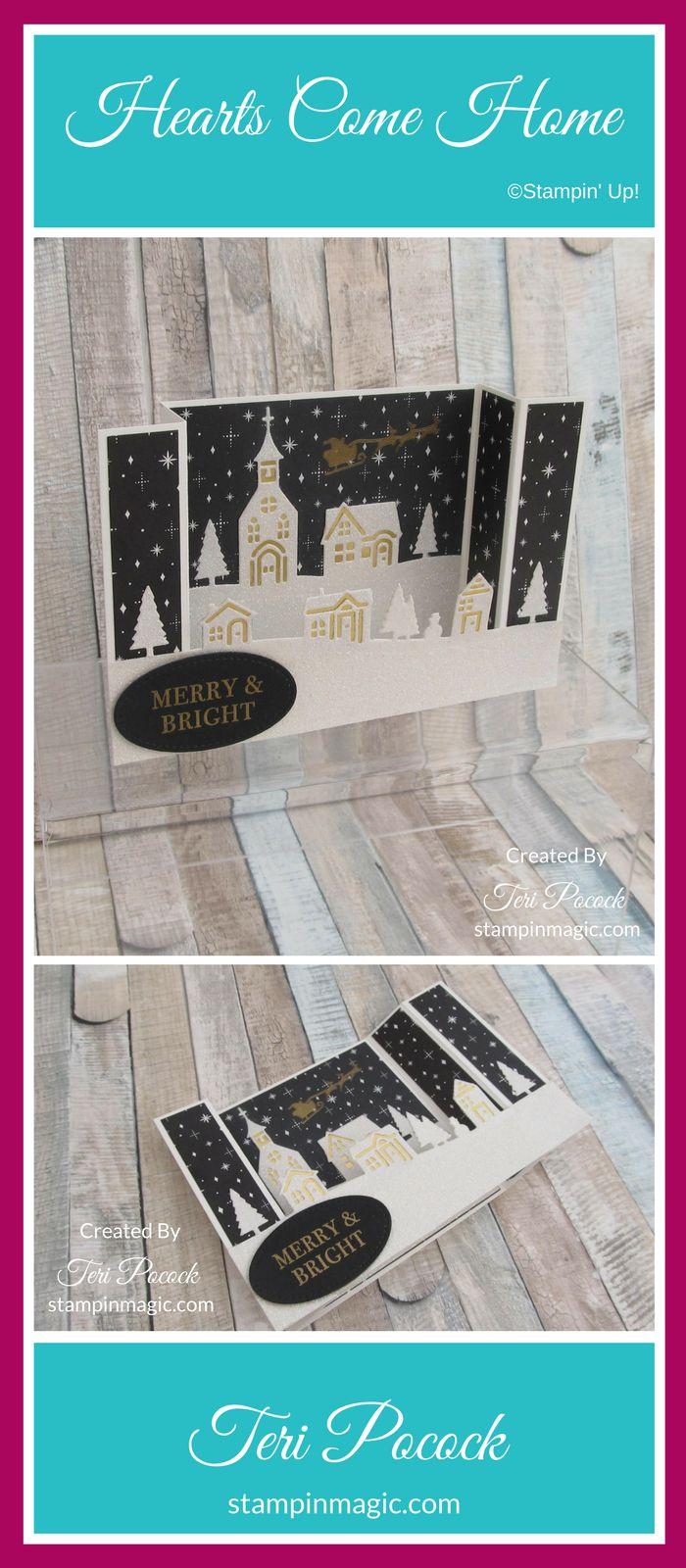 Hearts Come Home by Stampin Up. Created by UK Independent Demonstrator Teri Pocock. Click through for more details..#teripocock #stampinup #stampinupuk #heartscomehome