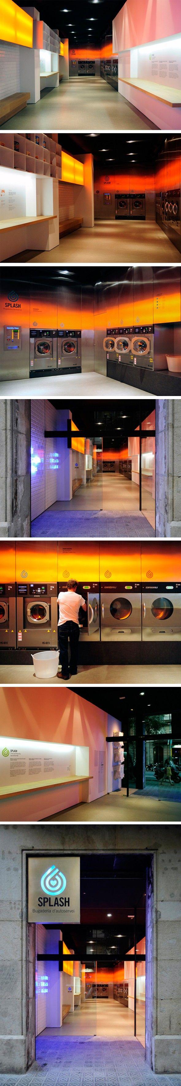 Laverie Splash par Frederic Perers - Journal du Design