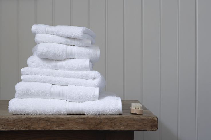 Christy White Supreme Towels