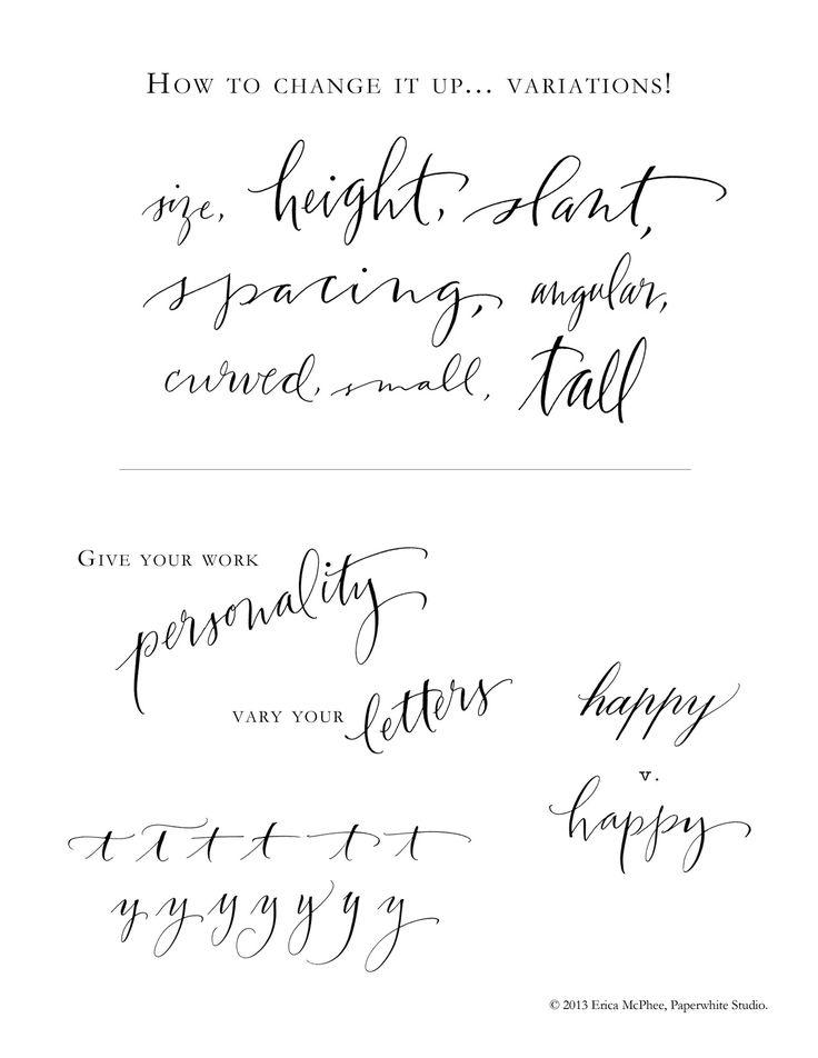 42 Best Calligraphy Flourish Images On Pinterest