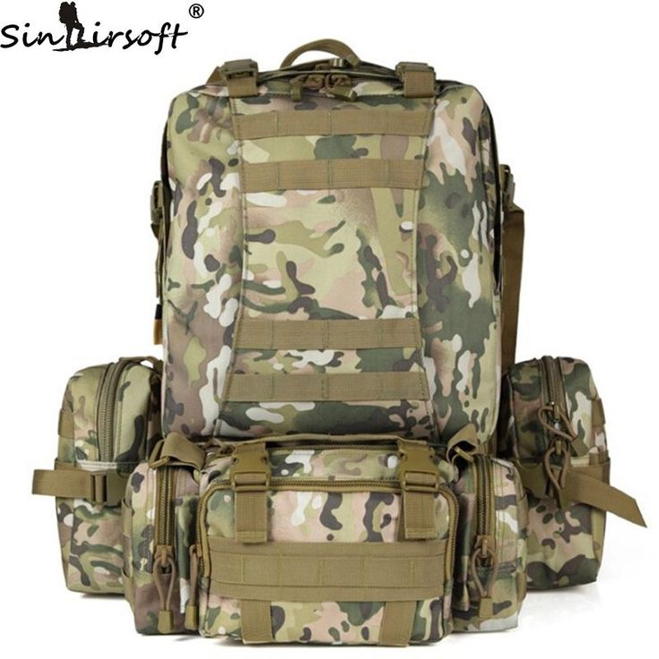 SINAIRSOFT 50L Molle Backpack Tactics Male backpack High capacity Assault Travel Military Rucksacks Backpacks Army Bag LY0017 //Price: $39.70 & FREE Shipping //     #hashtag4