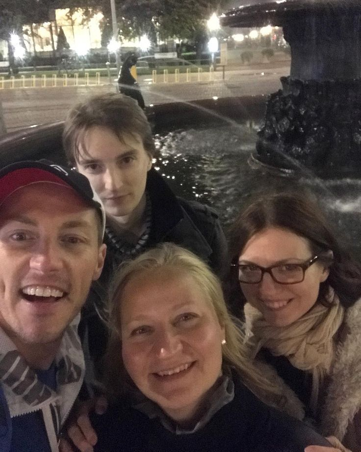 Last night in Helsinki with the Finnish fam