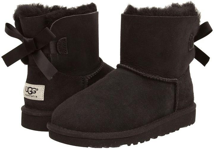 UGG Mini Bailey Bow Girls Shoes   Kids