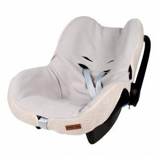 Bezug für Babyschale Klassisch sand - Der Bezug für die Babyschale von Baby's Only ist pflegeleicht und zugleich ein nützliches Zubehör. Der Bezug ist leicht anzubringen und kann bei Verschmutzung bei