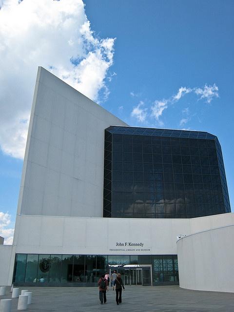 Kennedy Presidential Library in Boston