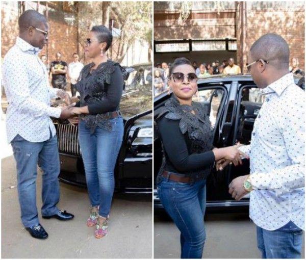 For their wedding anniversary Prophet Shepherd Bushiri gets wife a 2016 Rolls Royce http://ift.tt/2tkqR1d
