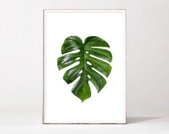 Impresión de la hoja de Palma hoja Palma de por LoveWonderPrints