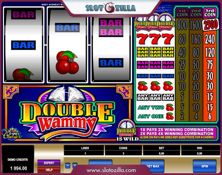 Double Wammy slot from @microgaming will bring you only pleasant emotions. Every one of us has a sort of wish we dream to accomplish. Now imagine that such a wish can come true! Enticing, isn't it? All you need is to spin this wheel of fortune! Play Double Wammy free slot at #slotozilla!