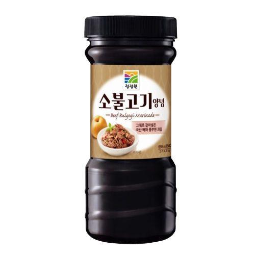 Korean brand!! Chungjungone Beef Bulgogi Marinade BBQ Sauce beef 840g (29.63oz) #Chungjungone