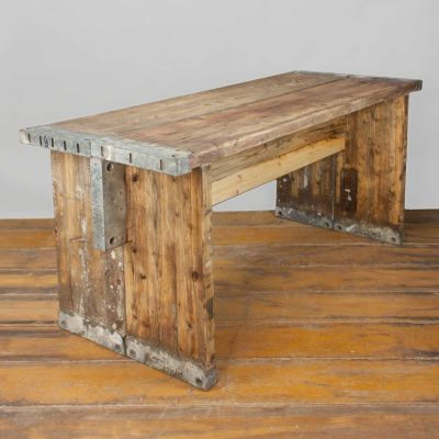 """Bohlen-Tisch """"Feierabend"""" 1,5m"""