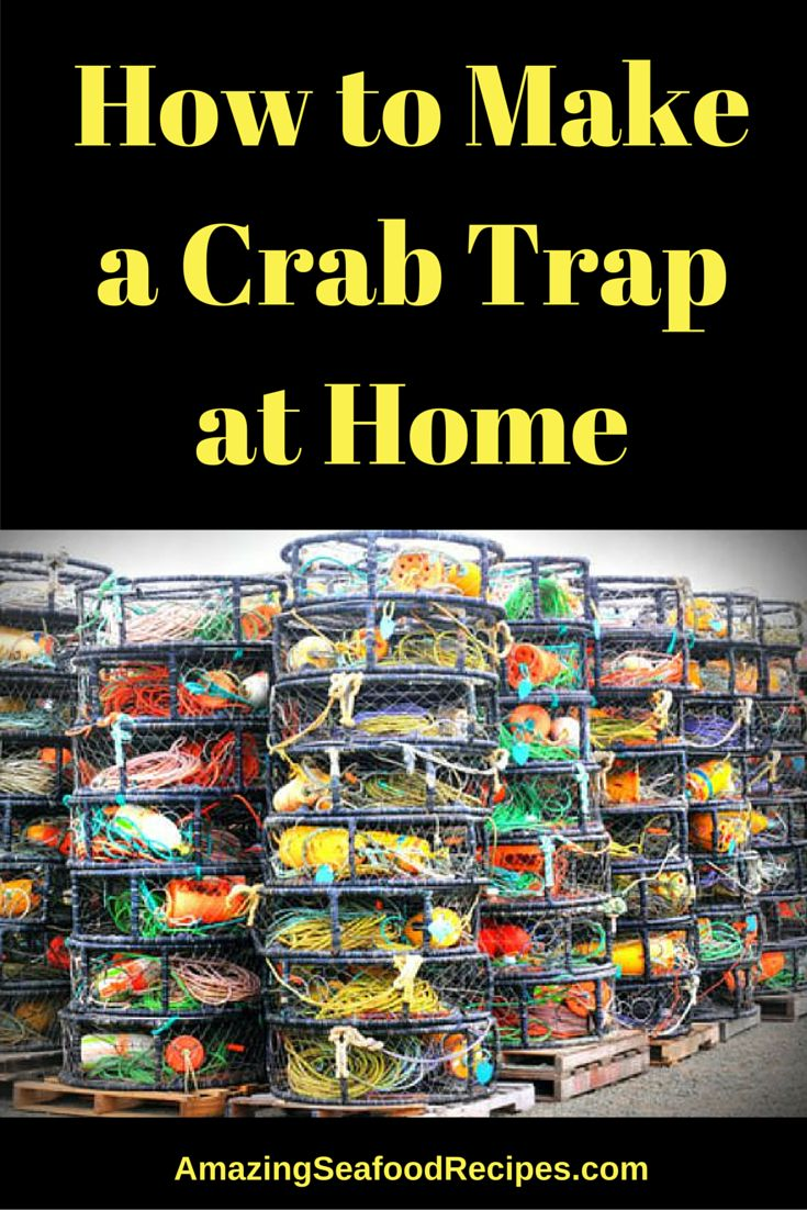 How To Make A Crab Trap At Home