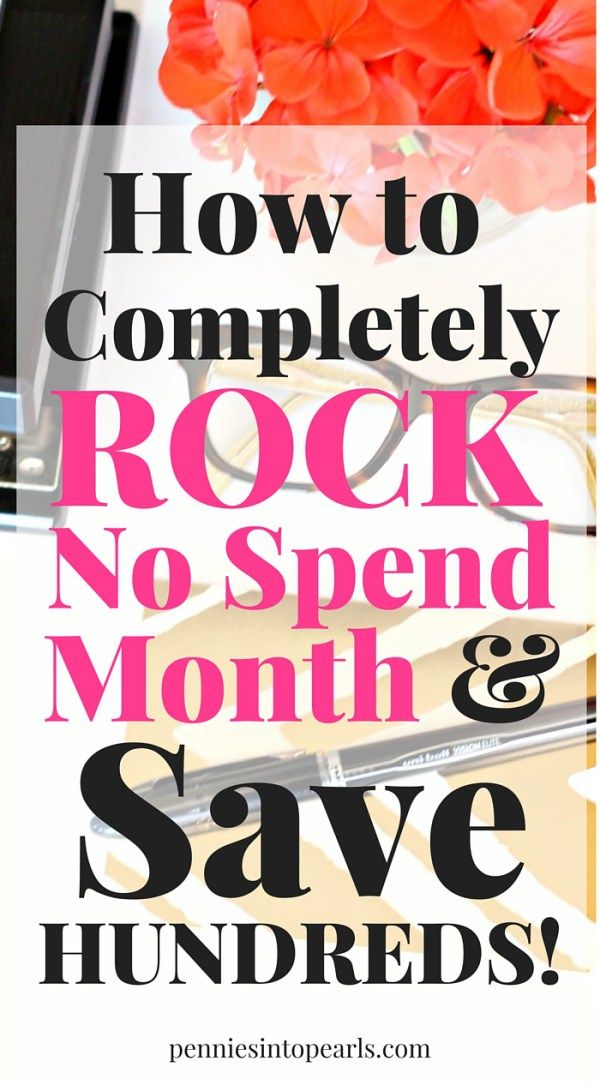 Do you know what a no spend challenge is? Let me show you how our family cut over $400 out of our monthly budget all by starting our first ever no spend month and how YOU can save even more money!