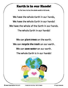 Earth Day Activity Preschool Pack - Itsy Bitsy Learners - TeachersPayTeachers.com