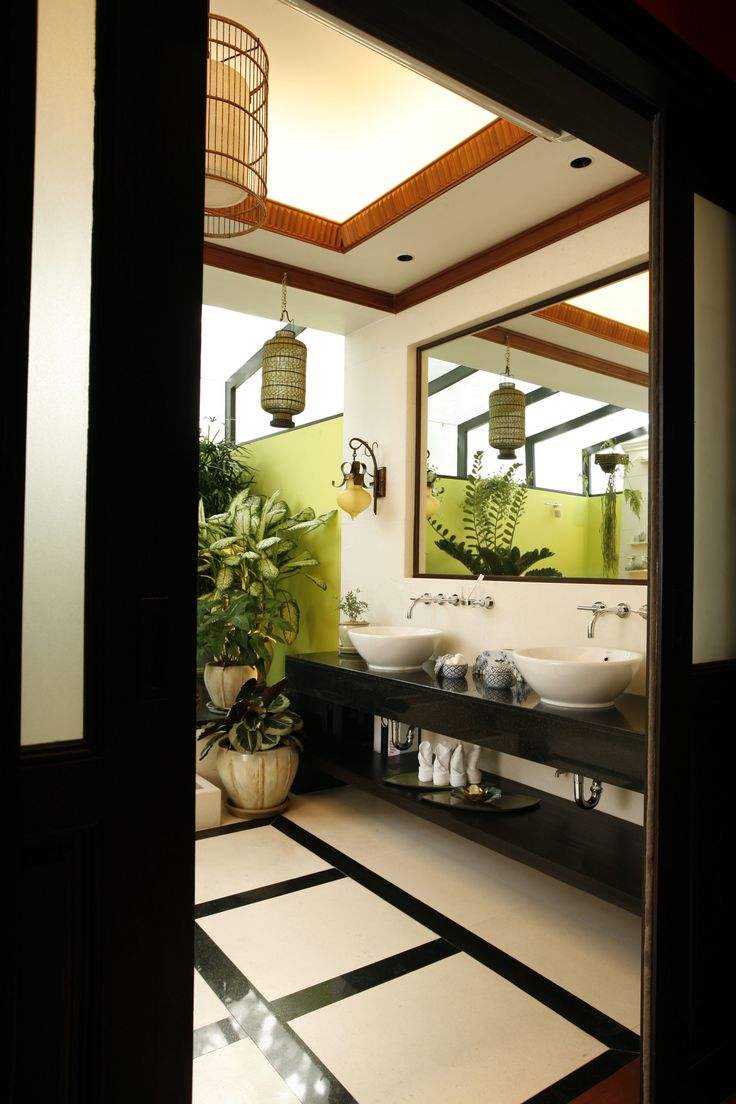 Asian style bathrooms - Tropical Master Bathroom Petilau Aristofreak Interiordesign Interiors Luxe Exotic Tropical Interiortropical Designzen Styleasian