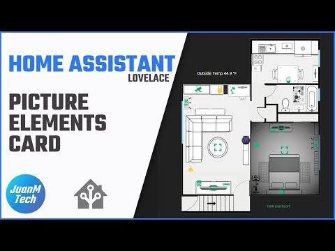 How to set up the Picture Elements card in Home Assistant - Lovelace