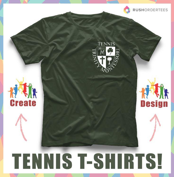 elegant custom t shirt design idea create a tennis custom t shirt design