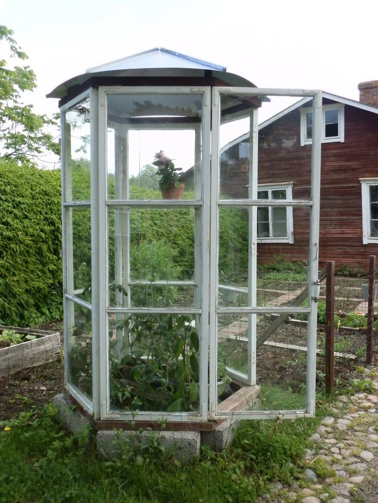 Greenhouse recycled windows garden pinterest for Reclaimed window greenhouse