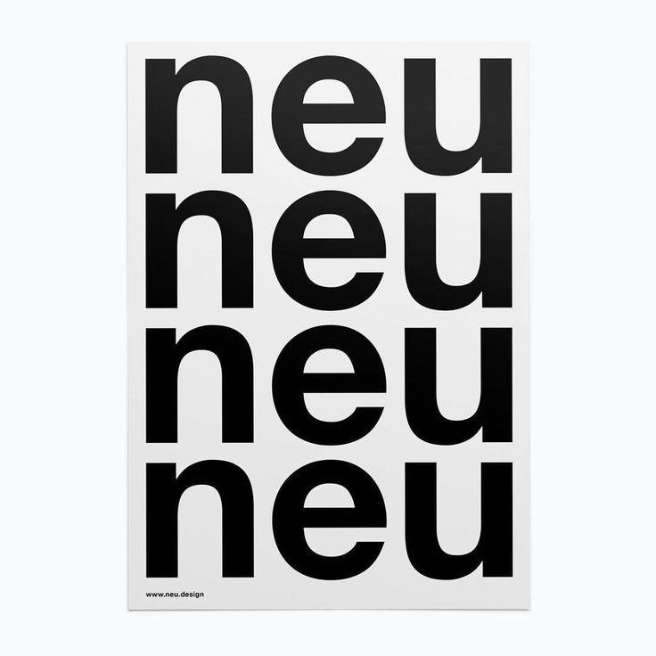 gutes neues jahr! neu design konstanz startet das projektbüro in 2017 #happynewyear #hny #poster #flyer #design #neujahr #typography #minimal #blackandwhite #font #neo #new #konstanz #bodensee @bold.studio
