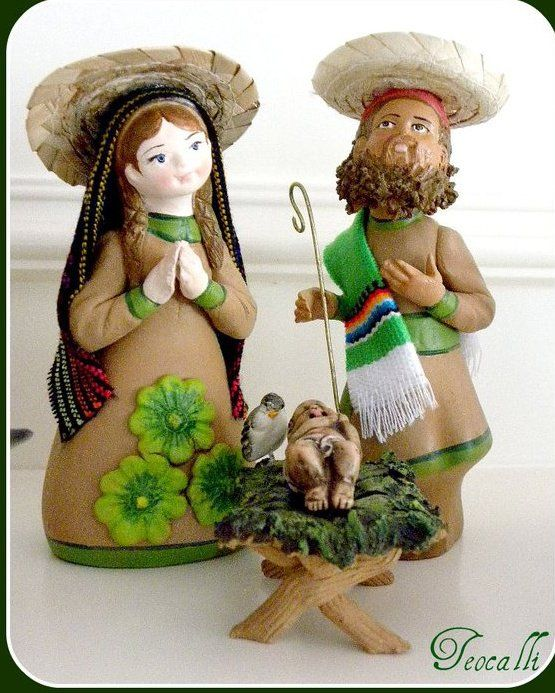 Mexican style Nativity scene